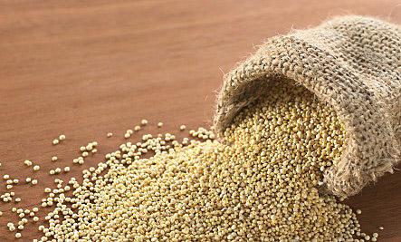 quinoa in bag