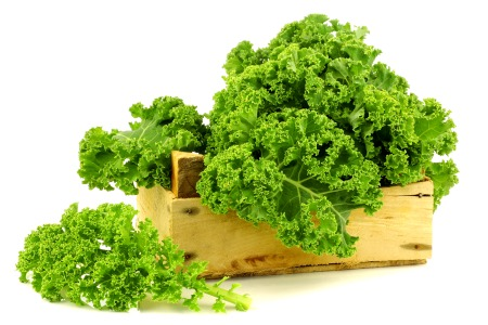 kale and wood