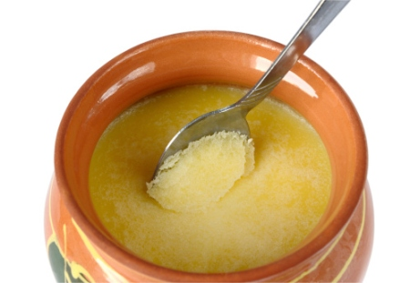 ghee in pot