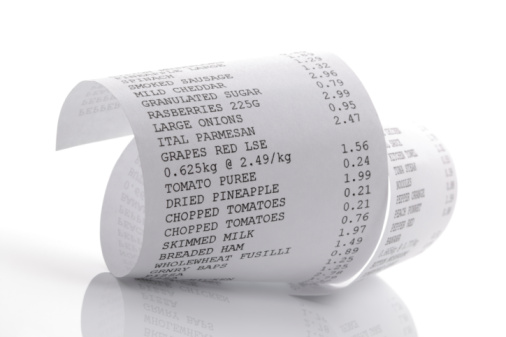 Keep your receipts - for possible returns and tax.