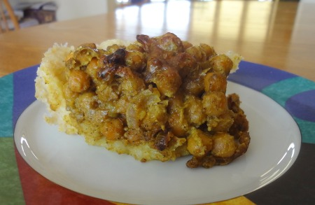 chick pea pie recipe